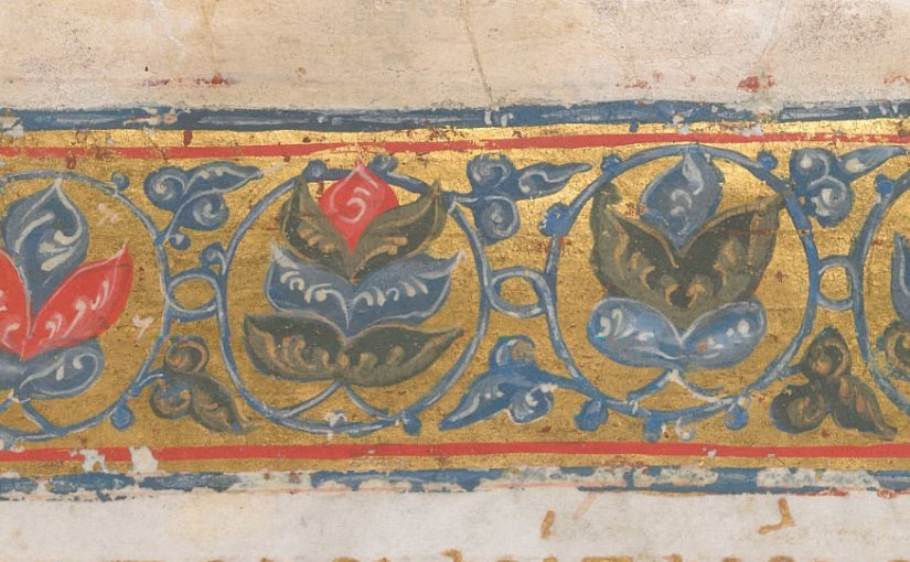 London, British Library, Burney 20 f. 91